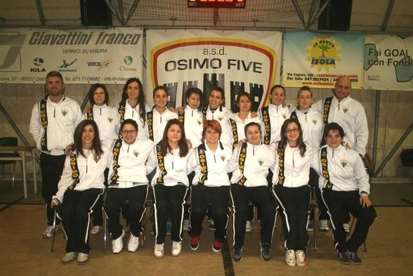 L'Osimo Five 2012-2013