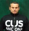 Tutta la carica di Fabio Carletti, in vista di Cus Ancona-Ardenza Ciampino: