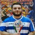 Il cantore di Coppa Gianmarco Malaspina, campione con il Futsal Coba: