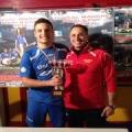 Parla Michele Cuomo match winner della finale Juniores:
