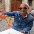 Il primo brindisi per la promozione in C2 lo fa mister Piero Antiminani:
