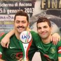 Una regione tutta colorata di verde. La Tenax vince la Coppa Marche 2012-2013. Le parole di capitan Fabio Iantolo e Mirko Penna.