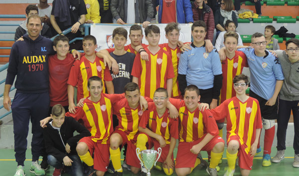 Giovanissimi: finale Real San Costanzo - Audax Sant'Angelo