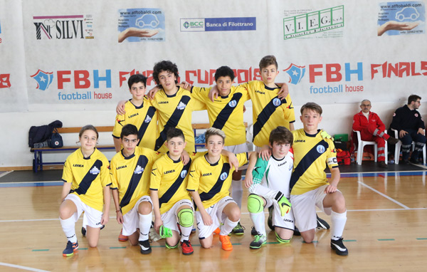 FBH Finals Cup 2018: 1° SF Giov. Cantine Riunite - Virtus Team