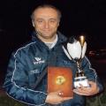 """La gioia di mister Santinelli per il successo in Coppa Marche pesarese: """"Il giusto premio per un'equipe affiatata come lo Spes Arcobaleno."""""""